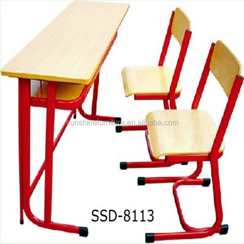 cheap wooden steel kids writing table and chair classroom. Black Bedroom Furniture Sets. Home Design Ideas
