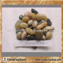 river rocks sale/colored gravel for gardens