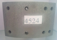 asbesto free mack truck brake lining 4524