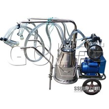 YDH-1cow milking machine with 64 pulsation times per minute