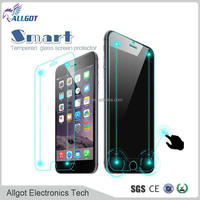 Alibaba best manufacturer! Smart Touch Tempered Glass Screen Protector with back confirm invisible key for iPhone 6 4.7''
