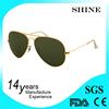 Hot Sales Plasitc revo lens metal aviator sunglasses