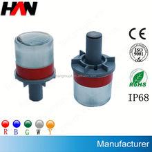 IP68 Flashing visor led warning light (Plastic base or Aluminium base)