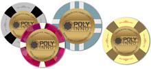 POLYINNO wholesale custom design CLay Texas holdem Casino Game poker chips