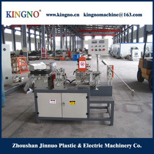 Rubber steel strip forming machine