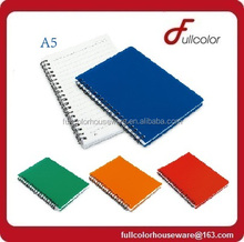 student & office Spiral color A5 note pad