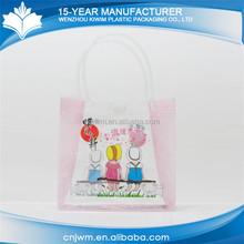 Eco-friendly waterproof China custom plastic t shirt bag