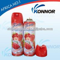 auto aerosol toilet Air freshener spray 300ML lemon perfume