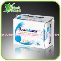 feminine comfort disposable soft cotton odor control lady anion santiary napkins high quality factory