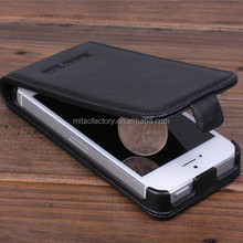 High Quality Wallet Cow Leather Flip Case Cover For iPhone 5 5S Bag