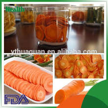 Process Dried Carrot in slices