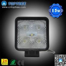 2015 hot sale For car tuning light 800lum12V 15w led work light