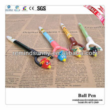 Promotional Cartoon Bird Slingshot Ball Pen