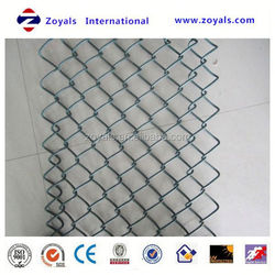 Reliable Supplier ISO 9001:2008 vinyl coated tension wire pvc chain link fence