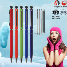 2015 metal stylus black fine tip pen