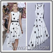 2015 Fashion Clothing Women Long White Wedding Party Dress