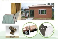 wood plastic composite wall siding