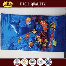 2015 new design hygroscopic surf brand beach towels with low price