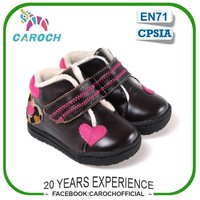 C-6441 2015 European New Style Fashion Children Winter Shoes Genuine Leather Kids Girls Boots