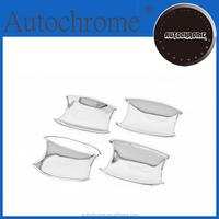 Chrome trim strips, car accessory chrome handle cavity cup for Toyota Land Cruiser Prado J150