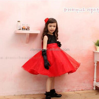 2015 Alibaba new design wedding /party children frock model for girls