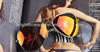 Mirrored lens aviator sunglasses ,UV400 protection and CE standard
