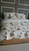 highest quality and cheapest price sunflower digital printed cotton bedsheet