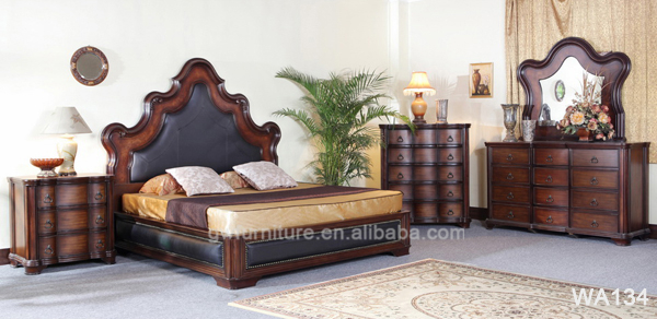luxury european style bedroom furniture sets customized king size bed