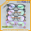 Acetate wood look Italian eyewear frame brand