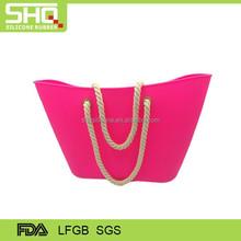 Fashionable silicone lady handbag