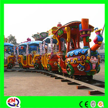 220v 4 cabins electric fairy model train for kids with CE certificate