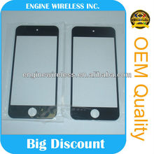 blue front glass for iphone 4,high quality,OEM