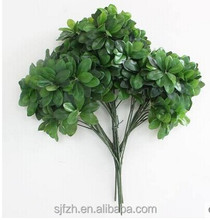 Wholesale evergreen artificial tree branch and leaf in factory price for decoration