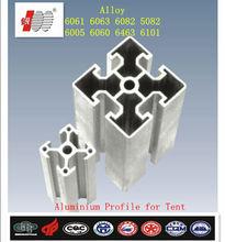 Aluminium scaffolding profile