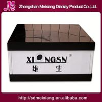 Plastic photo display stand, MX6618 Plastic cell phone accessory display case