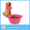 Wholesale Silicone Foldable Dog Cat Pet Water Bowls