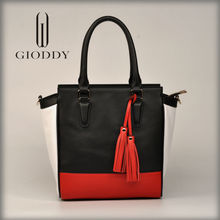 Good quality latest design 2015 new design clear tote bags