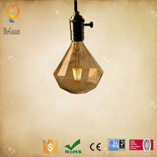 2015 hot new lighting products LED Diamond lamps filament bulbs Diamond lighting decoration for Europe