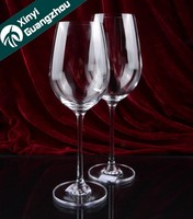 Personalized handmade crystal wine glass/brandy glass