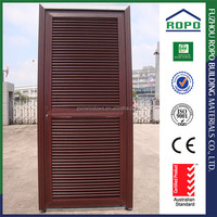 New fashion PVC frame redwood color bedroom door