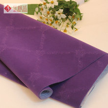 Flocking Style Polyester Printed Velvet Fabric For Jewellry Boxes / Packaging Box