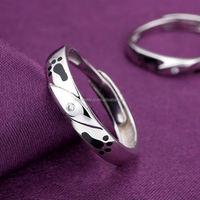 925 silver jewellery paypal shopping romantic fashion japanese couple wedding diamond ring
