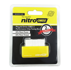 Os mais recentes Nitro OBD2 Benzina Tuning Chip BOX Plug and drive NitroOBD2 para Benzine Carros Mais potência / torque Mais Gar