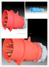 2015 Newly developed TIBOX fireproof waterproof industrial socket and plug