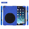 Military duty dual layers mobile case for iPad Air 2 iPad 6 drop resistant cover