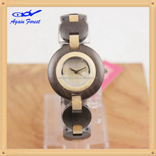 Designer hot selling wooden watches with japan most