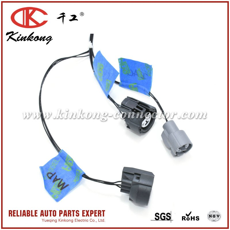 kinkong automotive connector oem pigtail harness custom cable assembly buy custom cable