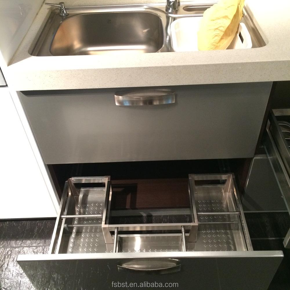 Moderne küche kabinett preise aluminium moderne küchenmöbel einbauküche werk preise