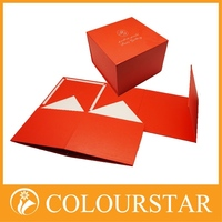 Hot stamping custom paper boxes and packaging for shirt