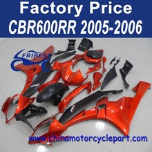 Chinese Motorcycles Fairing For YAMAHA R6 2006-2007 ORANGE&MATT BLACK